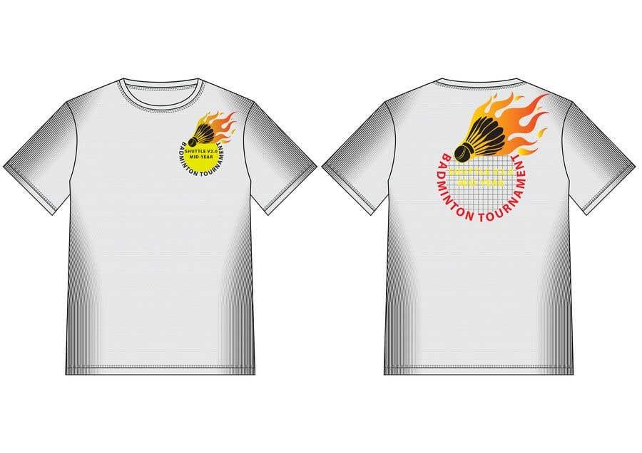 dfeb21c2 Entry #19 by hmahedi640 for T-shirt Design for Badminton Tournament ...