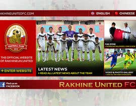 #4 para Graphic Design for Football Club Website Intro Page por passion2excel