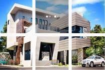 3D Rendering Kilpailutyö #131 kilpailuun Improve 3D Building Exterior - Paint, Windows, Balcony, Entrance, Garden