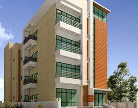 #41 для Improve 3D Building Exterior - Paint, Windows, Balcony, Entrance, Garden от nil369