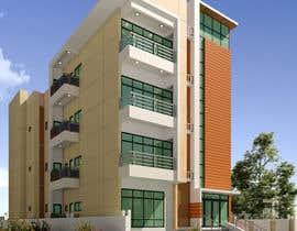#43 для Improve 3D Building Exterior - Paint, Windows, Balcony, Entrance, Garden от nil369