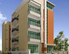 #51 для Improve 3D Building Exterior - Paint, Windows, Balcony, Entrance, Garden от nil369