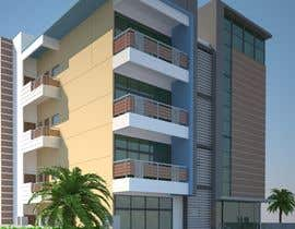 nº 87 pour Improve 3D Building Exterior - Paint, Windows, Balcony, Entrance, Garden par rashid78614