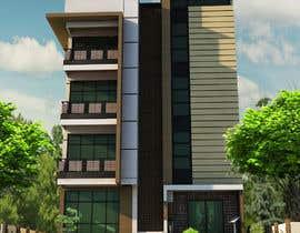 #45 для Improve 3D Building Exterior - Paint, Windows, Balcony, Entrance, Garden от elijoli1985