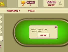 #20 untuk Re-skin My Poker Online Poker System UI oleh dixitpatel012345