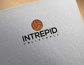 """#7 for Simple and classic volleyball logo for the company name """"Intrepid Volleyball"""" (intrepid means fearless). This must be easily made into shirts and stickers for the business. by biplob1985"""