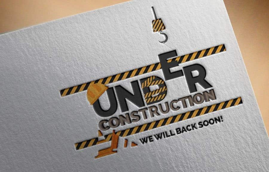 """Intrarea #7 pentru concursul """"Under Construction Background Image"""""""