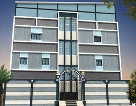 nº 15 pour 3D modeling/rendering of building facade by using 3ds Max to create new color design scheme par mufassir1234