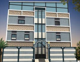 nº 16 pour 3D modeling/rendering of building facade by using 3ds Max to create new color design scheme par mufassir1234