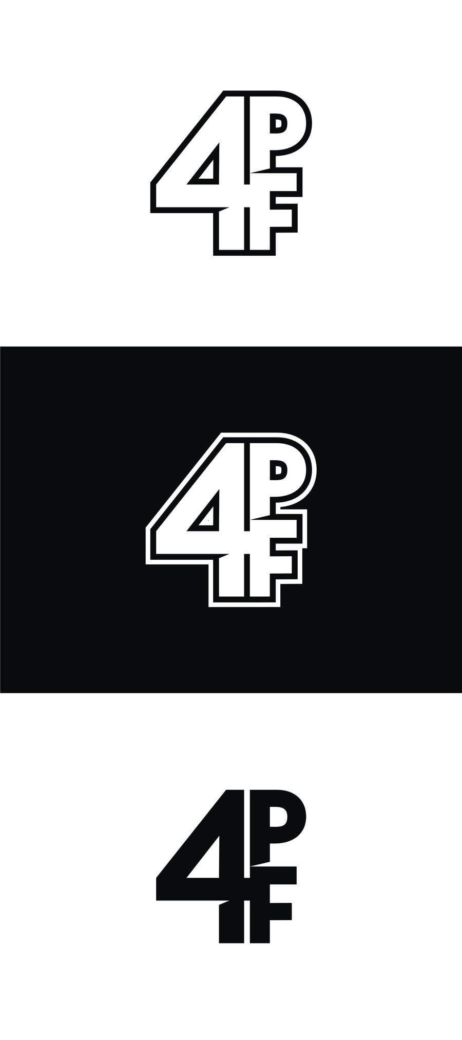 """Intrarea #1367 pentru concursul """"""""4PF"""" Logo"""""""