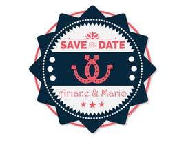 vilas42 tarafından Wedding: Logo & Save the date için no 82
