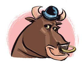 #61 for bull caricature by cbernardini