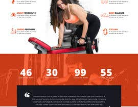 #11 for Joomla template for fitness center client by saidesigner87