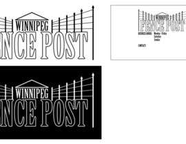 jcheighton tarafından Logo Design for Winnipeg Fence Post için no 3
