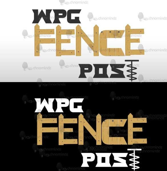 #8 for Logo Design for Winnipeg Fence Post by NierSolutions