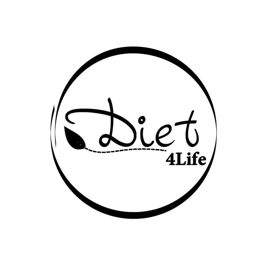 "Intrarea #47 pentru concursul ""We need a logo for our company «Diet4Life»"""