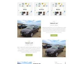 #10 for 1 page home page design by ManhDuy