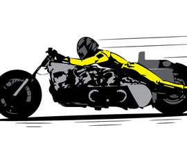 #2 for Create me a cartoon of a three engine bike used for Salt Lake Racing by Crazytoons