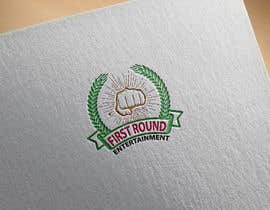 #15 untuk Logo for First Round Entertainment  Detroit fist with microphone in hand and have first round on top and entertainment on bottom oleh masudkhan8850
