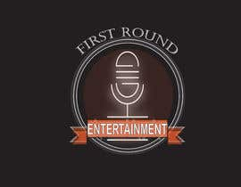 #5 untuk Logo for First Round Entertainment  Detroit fist with microphone in hand and have first round on top and entertainment on bottom oleh TasnimMaisha
