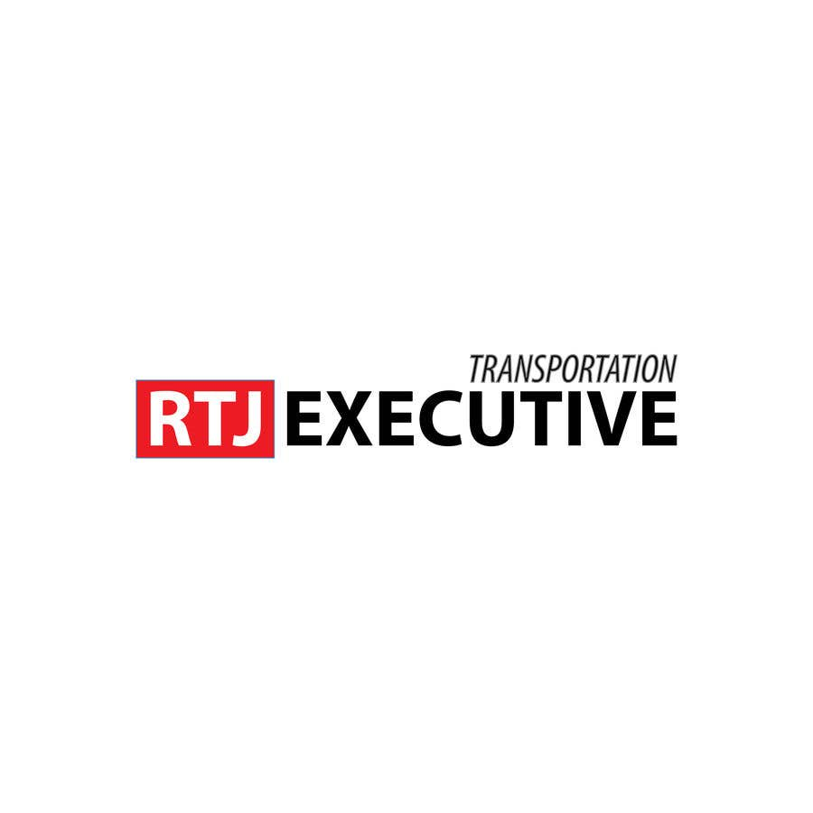 "Конкурсная заявка №21 для I need a logo for my limo company. We use SUVs (Yukon XLs and Suburbans) Our company name is ""RTJ Executive Transportation"" We are a black tie car service."