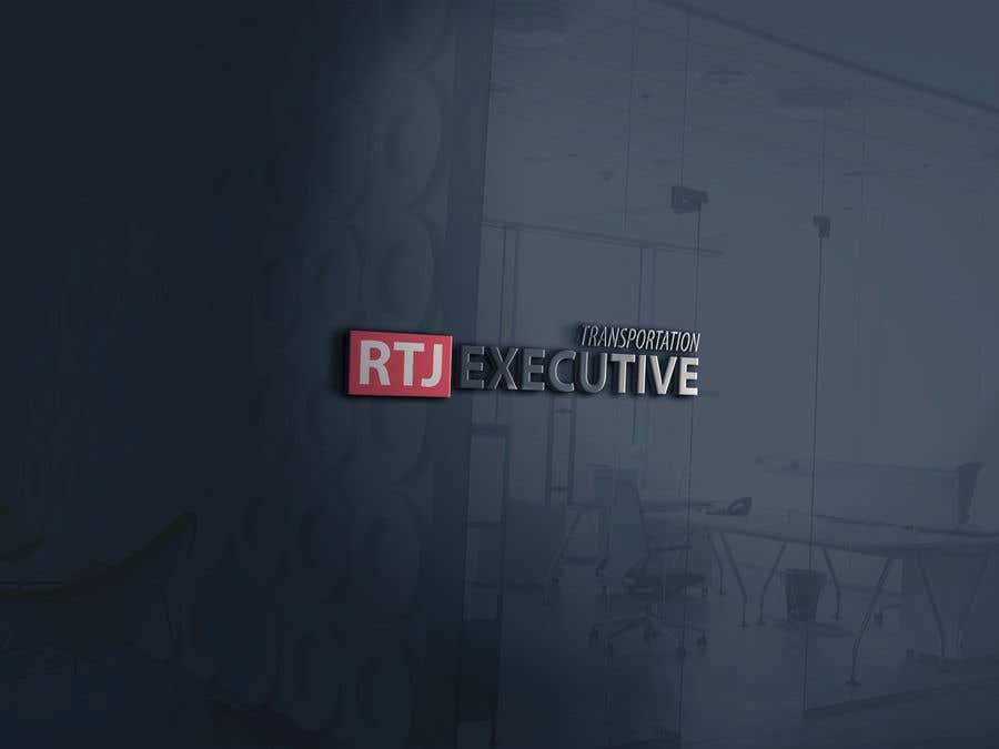 "Конкурсная заявка №22 для I need a logo for my limo company. We use SUVs (Yukon XLs and Suburbans) Our company name is ""RTJ Executive Transportation"" We are a black tie car service."