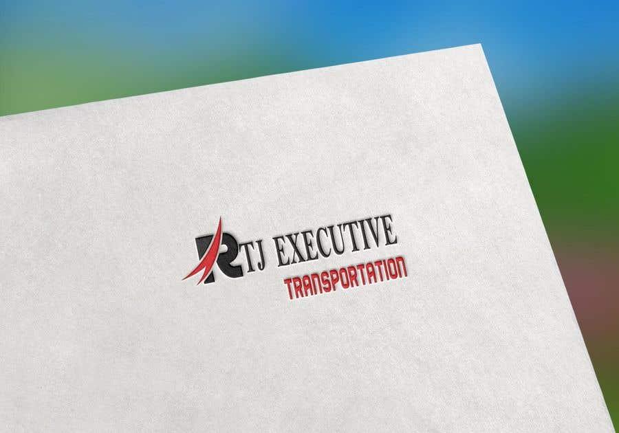 "Конкурсная заявка №26 для I need a logo for my limo company. We use SUVs (Yukon XLs and Suburbans) Our company name is ""RTJ Executive Transportation"" We are a black tie car service."
