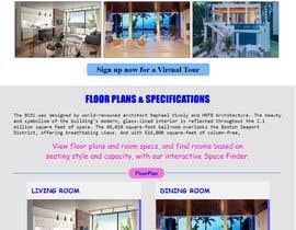 #15 untuk Website Design & Layout - 2 Page Design oleh FreelancerAmit03