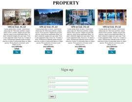 #12 untuk Website Design & Layout - 2 Page Design oleh amir499
