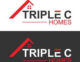 Nro 141 kilpailuun Logo Design for Triple C Homes käyttäjältä kawsermia75580