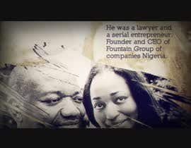 #8 for Create a Movie In memory of  Barrister Taiwo Ohenhen by Xplasr
