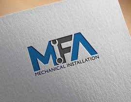 """#75 for I need a logo design for """"MFA"""" with underneath the logo """"Mechanical Installation """" by mindreader656871"""