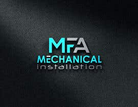 """#53 for I need a logo design for """"MFA"""" with underneath the logo """"Mechanical Installation """" by ZakirHossenD"""