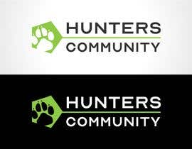 #44 for simple logo for  hunters community by ArtRaccoon