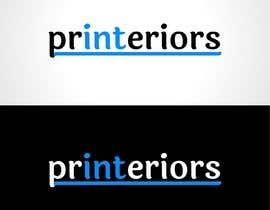 #117 para LOGO needed - interior printing services. por ArtRaccoon