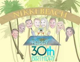 #30 for Cartoon Birthday Design af Dan5626
