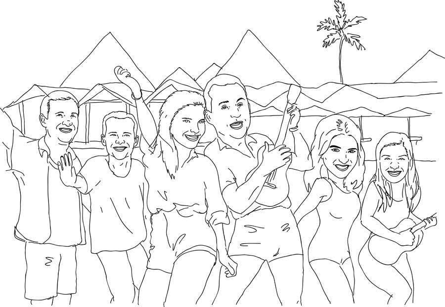 Konkurrenceindlæg #14 for Cartoon Birthday Design