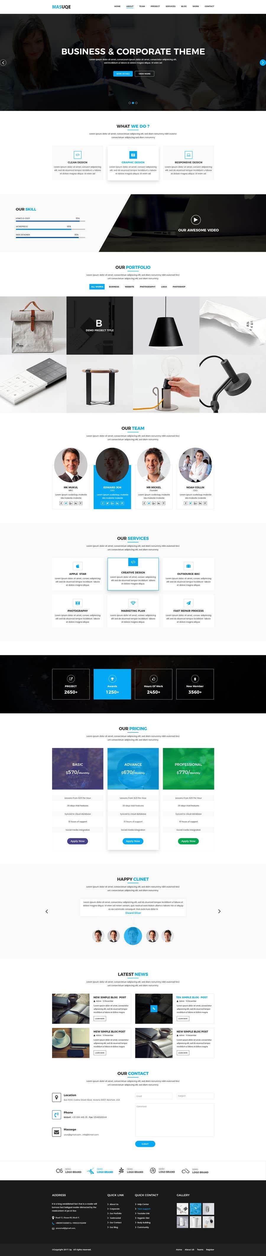 Kilpailutyö #31 kilpailussa Website Design Company Website Needed...haha