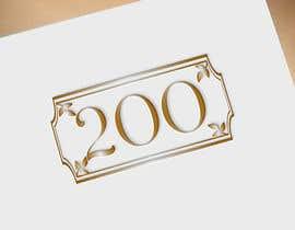 Nro 132 kilpailuun Logo for hotel rooms' numbers käyttäjältä DesignInverter
