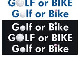 #95 untuk Design Logo Golf or Bike Event oleh FarooqGraphics
