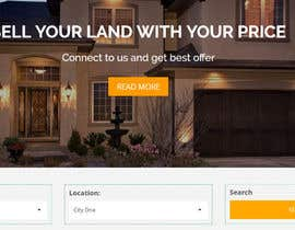 #65 para Need a website for real estate that focus on buying land. por codervai
