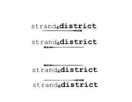 #11 for Strand and district logo by AngiePavlov