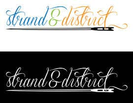 #10 for Strand and district logo by habibamukti