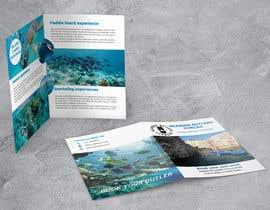 #11 для Bi-fold Flyer for tourist sea activities от amina68