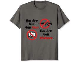 #98 for Anti Violence T-shirt design af shakhawatshimol