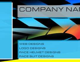 TSMXdesigns tarafından Design header for a company offering car racing related graphics için no 3