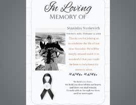#22 for Design me a prayer card for a funeral af houssamalmas