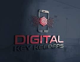 Nro 342 kilpailuun Cutting edge logo for   Digital Key Keepers käyttäjältä zouhairgfx