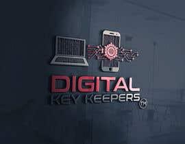 Nro 361 kilpailuun Cutting edge logo for   Digital Key Keepers käyttäjältä zouhairgfx