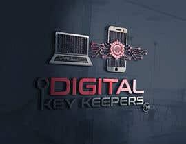 Nro 364 kilpailuun Cutting edge logo for   Digital Key Keepers käyttäjältä zouhairgfx